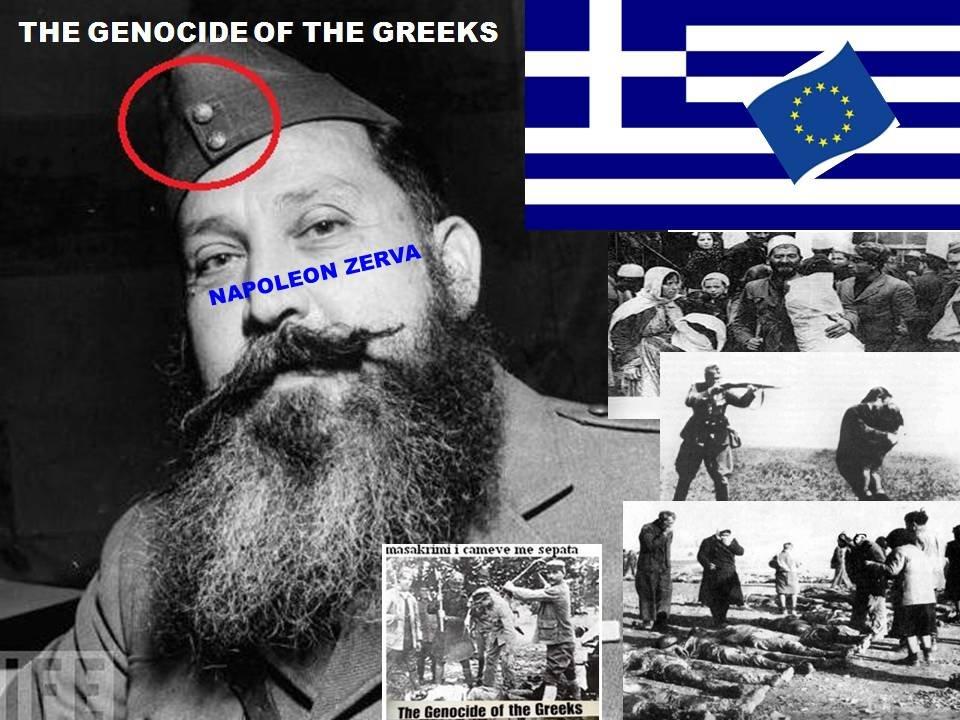 N'GREQI GJENOCID-BËRËSI BËHET MINISTER, BE'JA PËRKRAHI HITLERISTËT