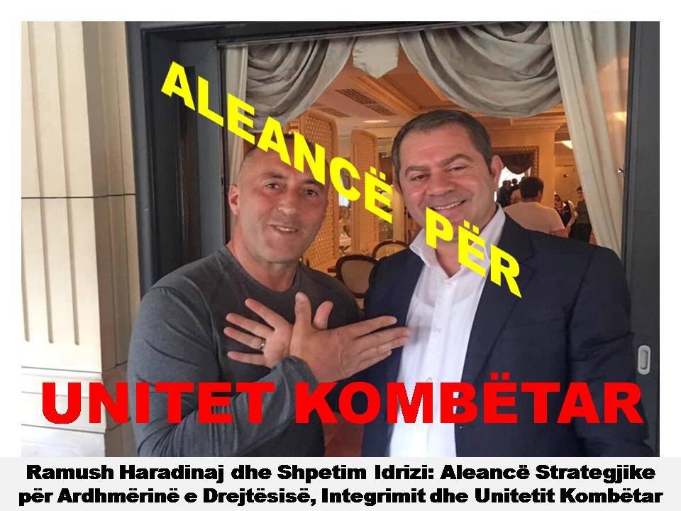 Ramush Haradinaj dhe Shpetim Idrizi: Aleancë Strategjike për Ardhmërinë e Drejtësisë, Integrimit dhe Unitetit Kombëtar