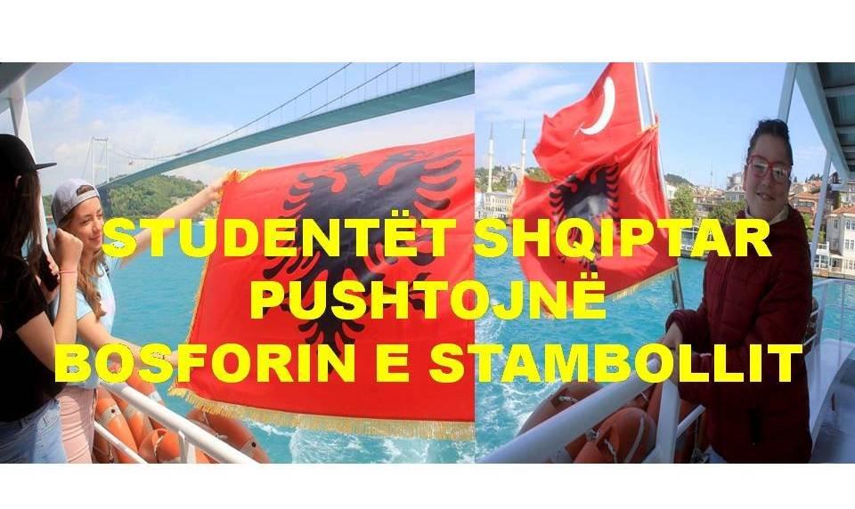 Bosfori i Stambollit Pushtohet Nga Unioni Studentor Shqiptar