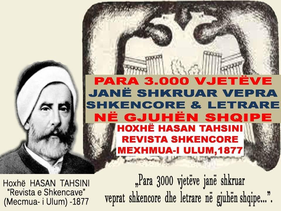Para 3000 vjetëve janë shkruar vepra shkencore dhe letrare në gjuhën shqipe
