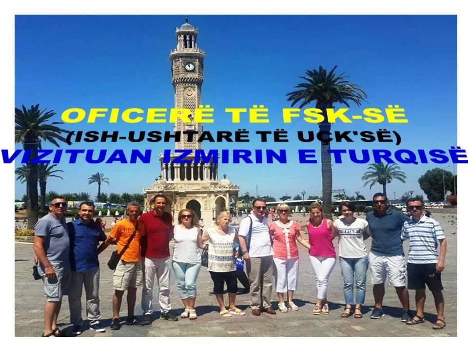Oficerë të FSK-së (Ish-ushtarë të UÇK'së) Vizituan Zonën Egje të Turqisë