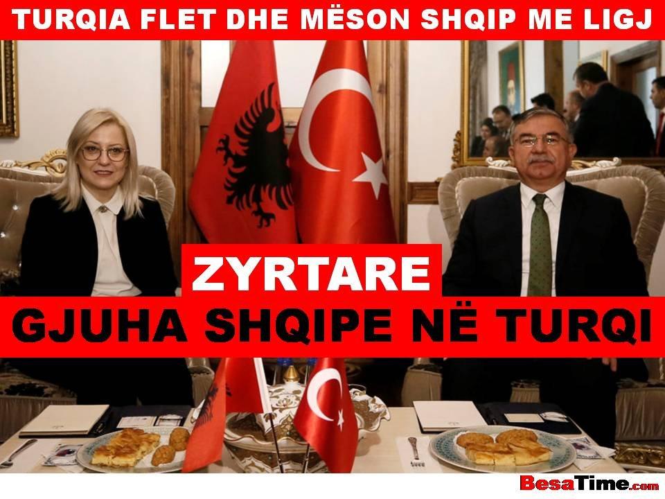 NË IZMIR INAGUROHET ZYRTARIZIMI I GJUHËS SHQIPE (TURQIA FLET DHE MËSON SHQIP ME LIGJ)