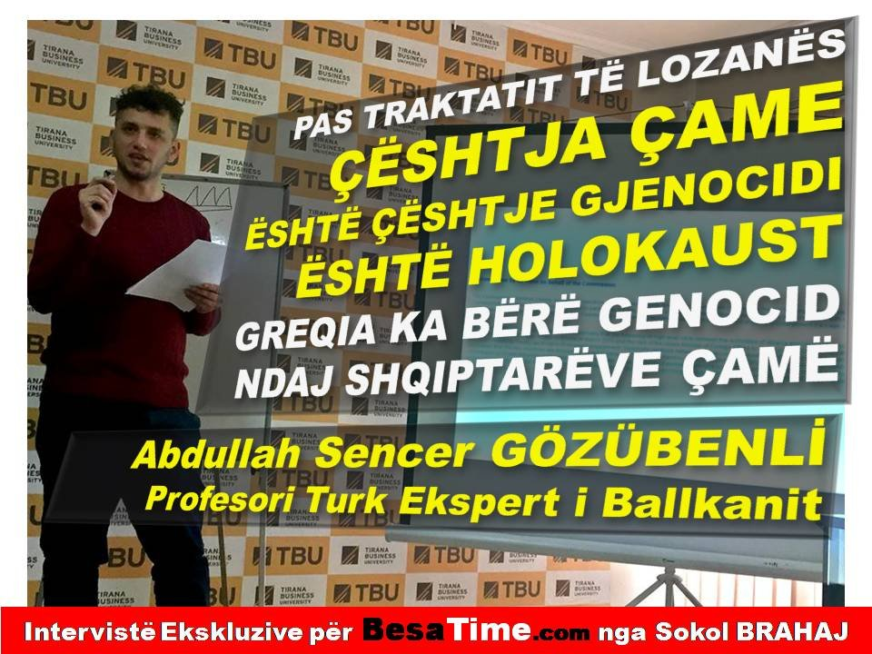 GREQIA KA BËRË GENOCID & HOLOKAUST NDAJ SHQIPTARËVE ÇAMË PAS TRAKTATIT TË LOZANËS