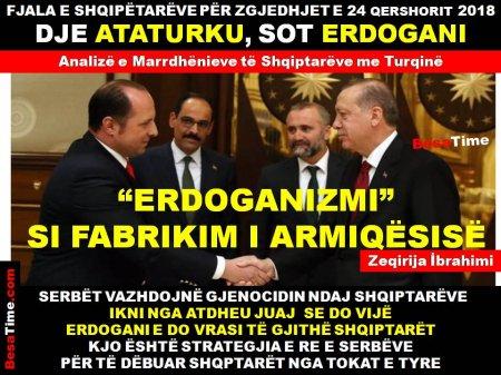 SHQIPTARËT E TURQISË: VOTEN DJE E KISHIM PËR ATATURKUN, SOT PËR ERDOGANIN