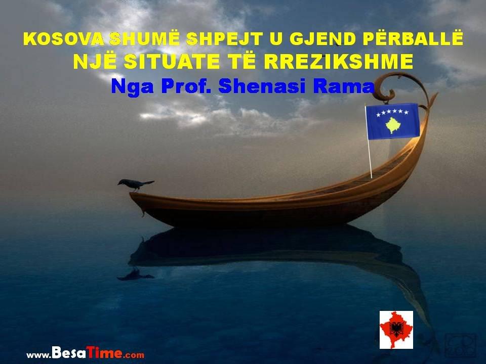 KOSOVA SHUMË SHPEJT U GJEND PËRBALLË NJË SITUATE TË RREZIKSHME│ Nga Prof. Dr. Shenasi Rama