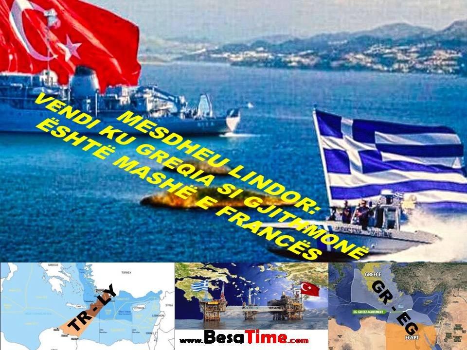 MESDHEU: VENDI KU GREQIA SI GJITHMONË ËSHTË MASHË E FRANCËS