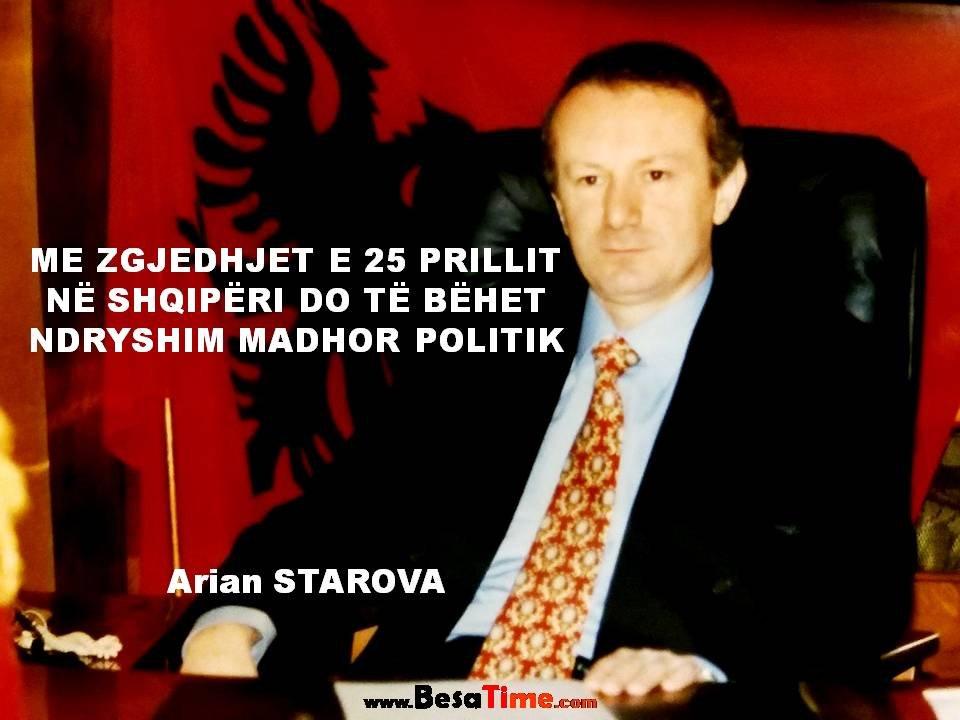 ME 25 PRILL NË SHQIPËRI DO TË BËHET NDRYSHIM MADHOR POLITIK